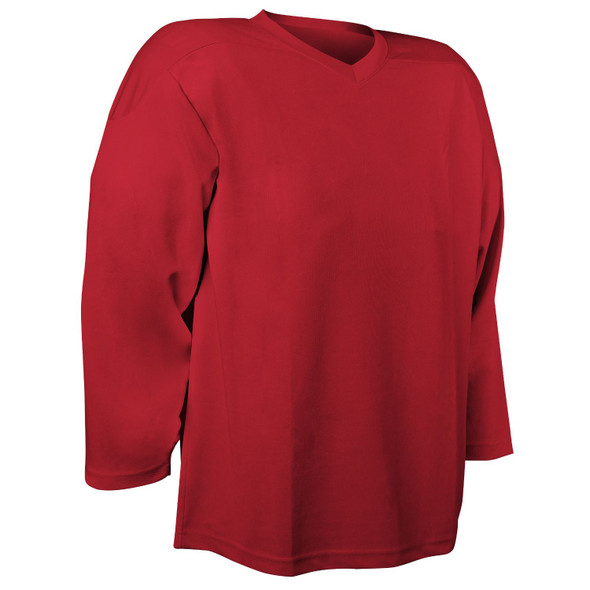 Champro Adult Faceoff Hockey Jersey Scarlet Small