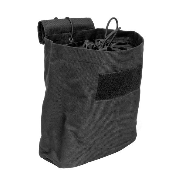 Vism Folding Dump Pouch-Black