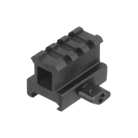 Leapers UTG Hi-Profile Compact Riser Mount 1in High 3 Slot