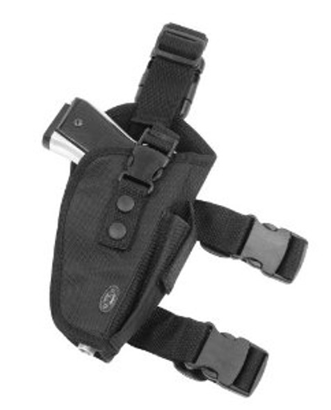 Leapers UTG Elite Tactical Thigh Holster Right Handed-Black