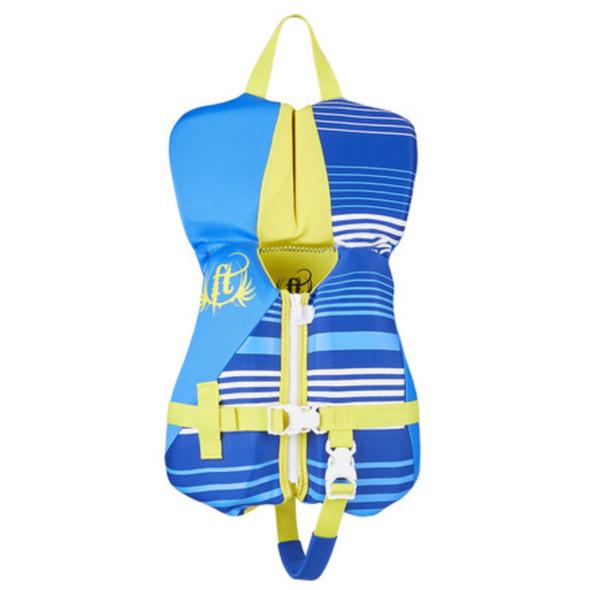 Full Throttle Infant Life Jacket Rapid-Dry Flex-Back-Blue