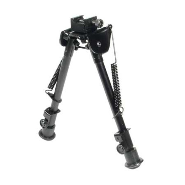 Leapers UTG Tactical OP Bipod Rubber Feet 8.3-12.7in Cntr Ht