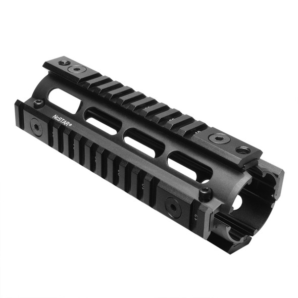 NcSTAR 3/8 in Dovetail to Picatinny Rail Adapter Rail-Short