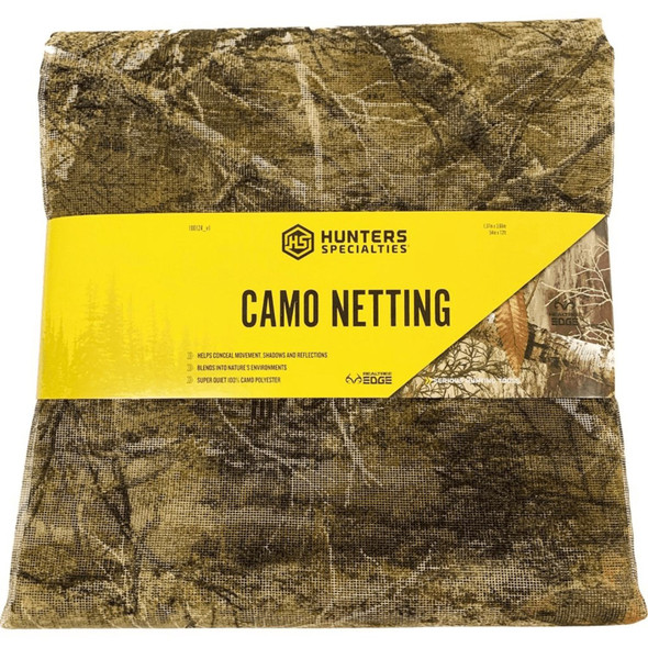 Hunters Specialties Netting 54 In x 12 Ft Realtree Edge