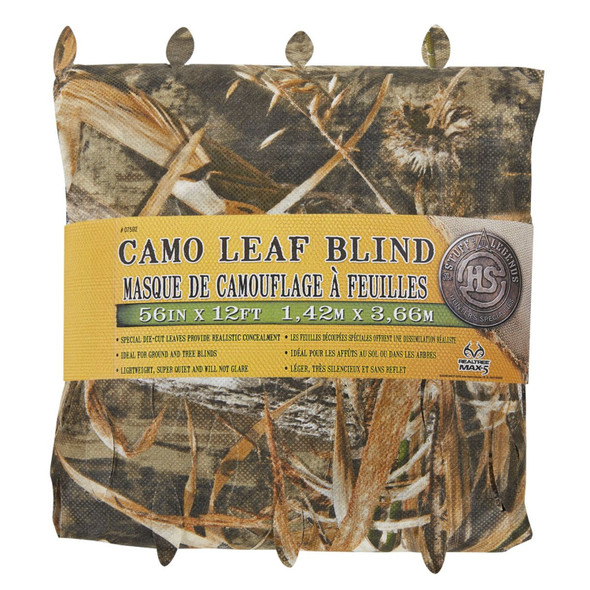 Hunters Specialties Leaf Blind 56 In x 12 Ft Max 5