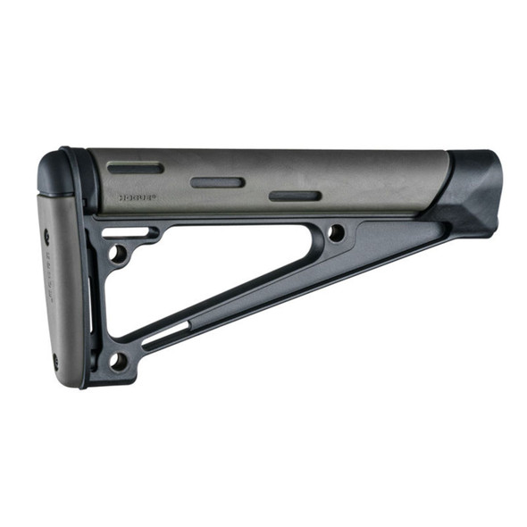 Houge AR15 M16 OM Fixed Buttstock Fits A2 Buffer Tube Grey