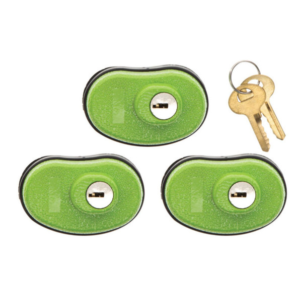 Lockdown Keyed Trigger Lock Three Pack