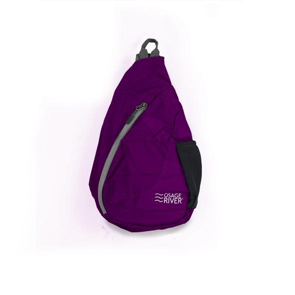 Osage River Taber Sling Bag - Purple/Gray
