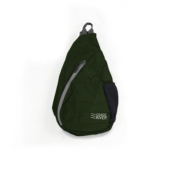 Osage River Taber Sling Bag - Olive/Gray