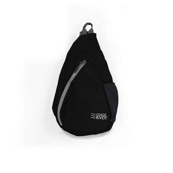 Osage River Taber Sling Bag - Black/Gray