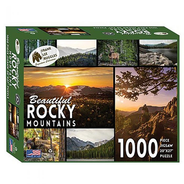 BEAUTIFUL ROCKY MTNS PUZZLE