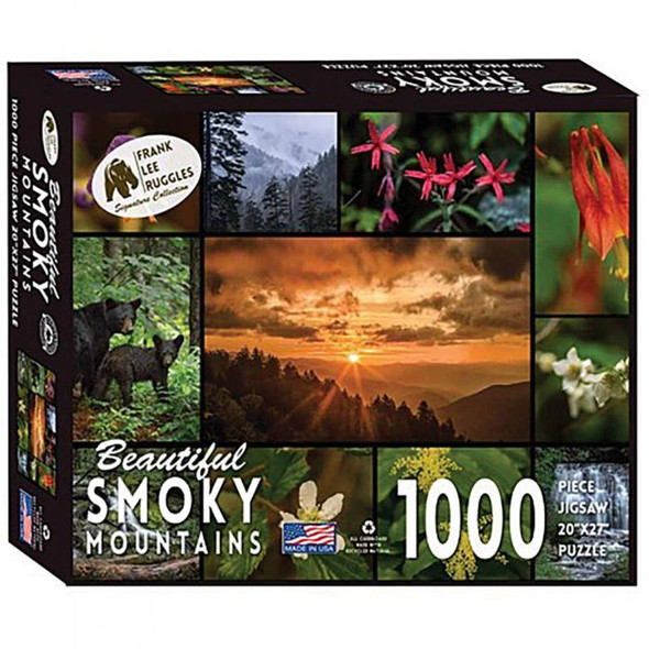 BEAUTIFUL SMOKY MTNS PUZZLE