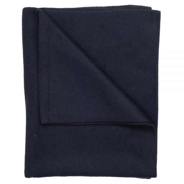 SOLID NAVY WOOL 55