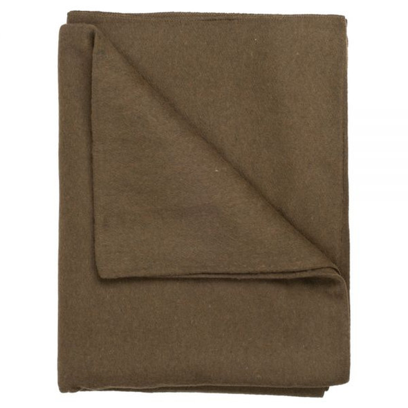 SOLID OLIVE GREEN WOOL 55