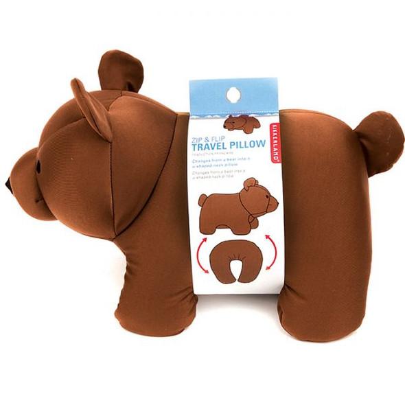 ZIP & FLIP BROWN BEAR