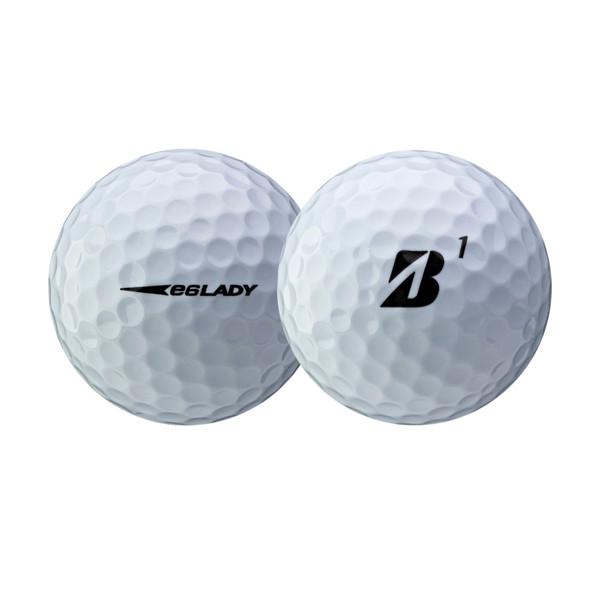 Bridgestone Lady Precept White Golf Ball - Dozen