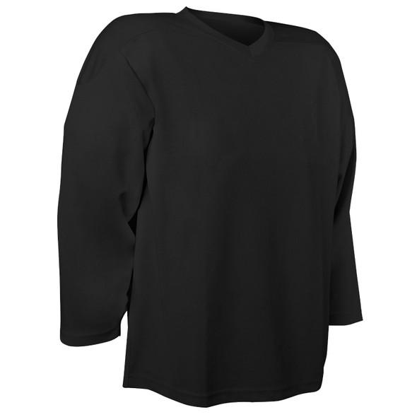 Champro Adult Faceoff Hockey Jersey Black Xlarge