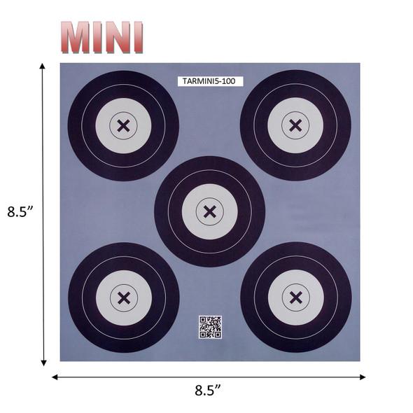 .30-06 5 Spot Mini Paper Target 100 Count