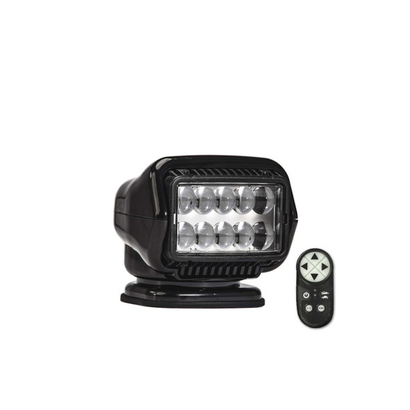 Stryker ST LED Portable Magnetic Mount w Wireless Remote Blk