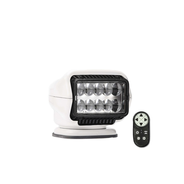 Stryker ST LED Portable Magnetic Mount w Wireless Remote Wht