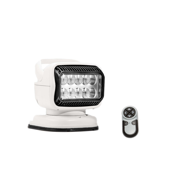 Golight GT LED Magnetic Mount Shoe Wireless Remote White