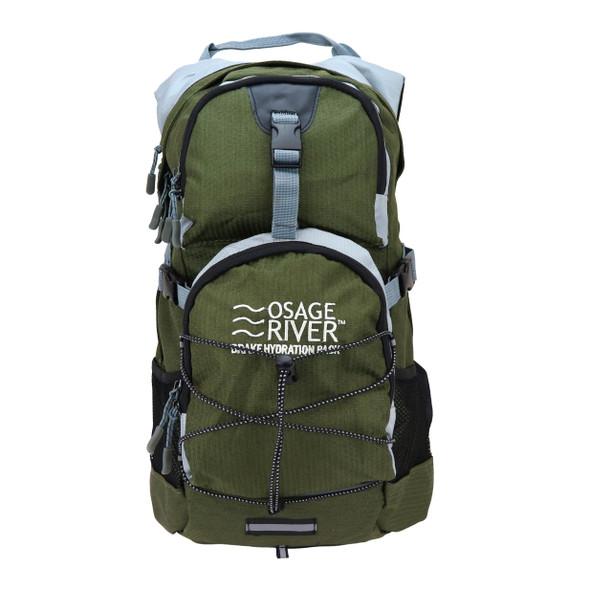 Osage River Drake Hydration Pack Olive Gray