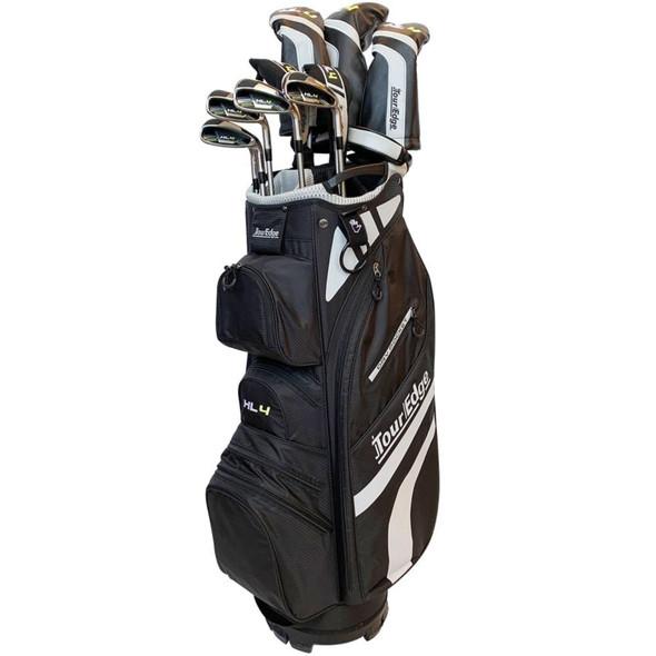 Tour Edge HL4 To-Go Mens Complete Golf Set Reg Flex-Graphite-LH