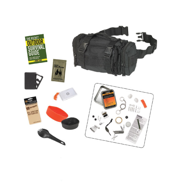 Snugpak 10-Piece Responsepak Survival Bundle - Black