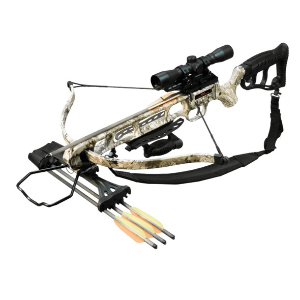 Viking FX1 Recurve Crossbow Package Rhino Camo