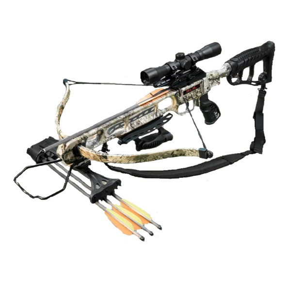 Viking FX1-45 Recurve Crossbow Package Rhino Camo