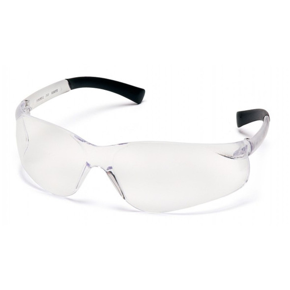 Pyramex Ztek Safety Glasses Clear Frame Clear AntiFog Lens
