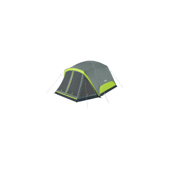 Coleman Skydome Tent 6P Scrn Rm Rockgrey C001