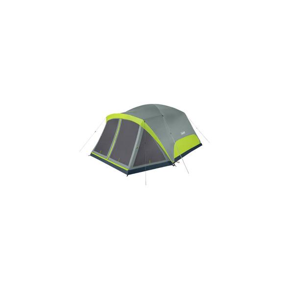 Coleman Skydome Tent 8P Scrn Rm Rockgrey C001