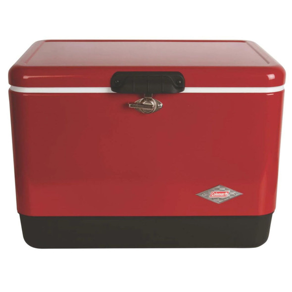 Coleman Vi Sb Cooler 54Qt 6155 Red W Red C1