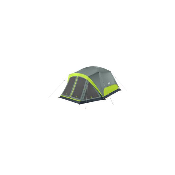 Coleman Skydome Tent 4P Scrn Rm Rockgrey C001