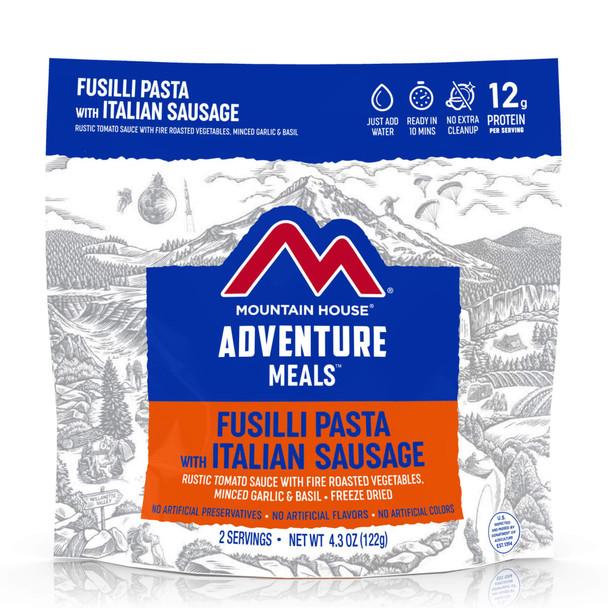 Fusilli Pasta with Italian Sausage