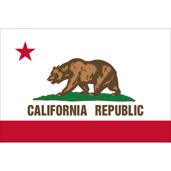 California State Flag Nylon