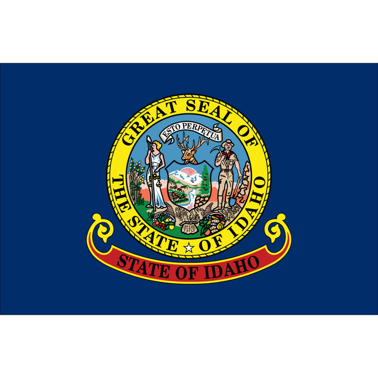Idaho State Nylon Flag