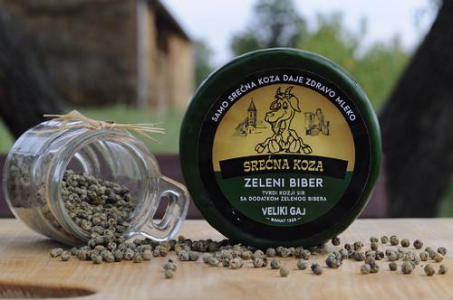 ZELENI BIBER, kozji sir Srećna koza 999199 14.9 |  New Free Look LS d.o.o.