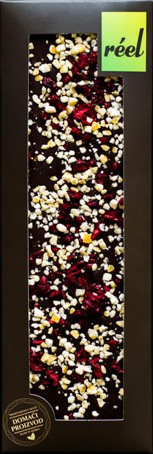 TAMNA ČOKOLADA 70% UZ VINO, čokolada ručne izrade