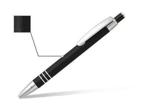 MARBLE Metalna hemijska olovka u metalnoj poklon tubi