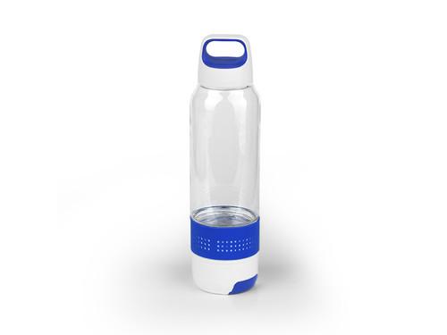 FITNESS Plastična sportska flašica sa peškirom, 600ml