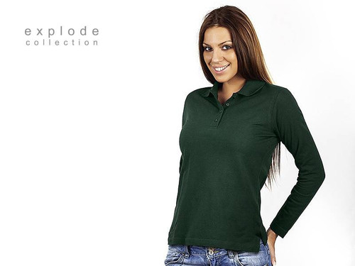 EXPLODE LINDA Zenska pamucna polo majica dugih rukava 52.003