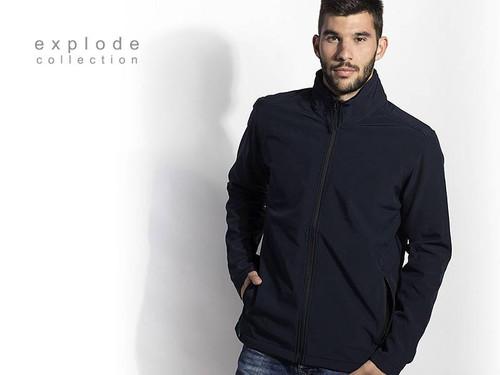 EXPLODE NERO Softshell jakna 57.021