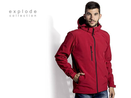 EXPLODE PROTECT MEN Softshell jakna sa skidajucom kapuljacom 57.025