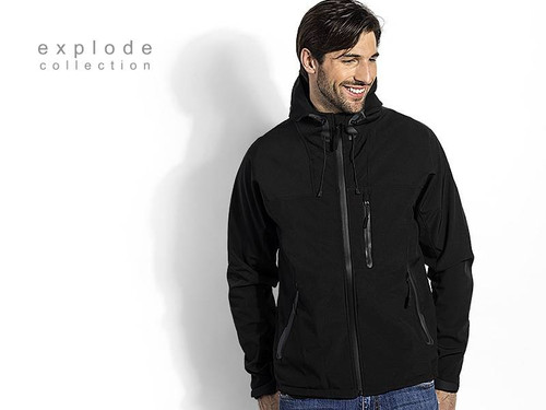 EXPLODE BLACK PEAK Softsel jakna sa kapuljacom 57.040
