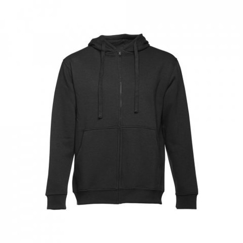 AMSTERDAM. Men's hooded full zipped sweatshirt 30161