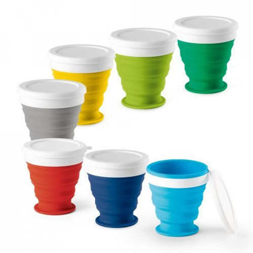 ASTRADA. Foldable travel cup 250 ml 94762