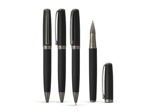 STRAIGHT Metalna hemijska i roler olovka u setu