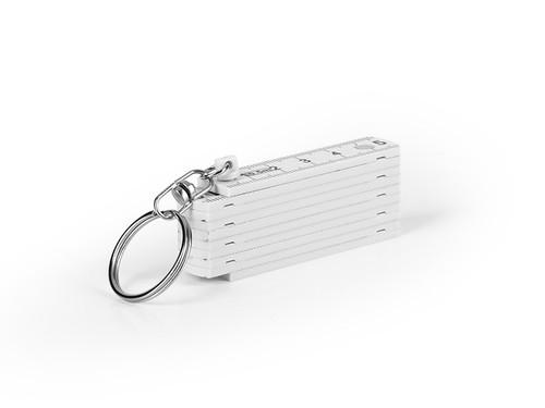 RULER Sklopivi lenjir sa metalnim prstenom